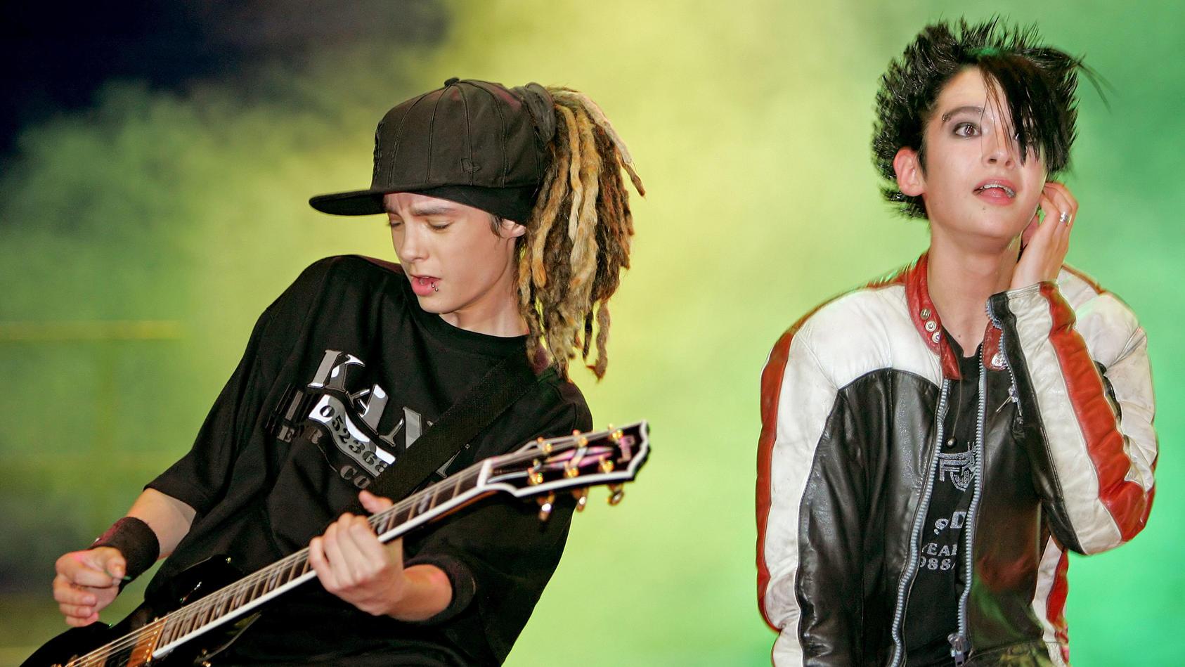 Tom und Bill Kaulitz wurden mit der Band Tokio Hotel bekannt