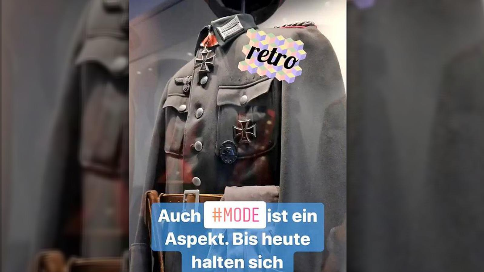 So sah der Post der Bundeswehr bei Instagram aus - bevor er gelöscht wurde