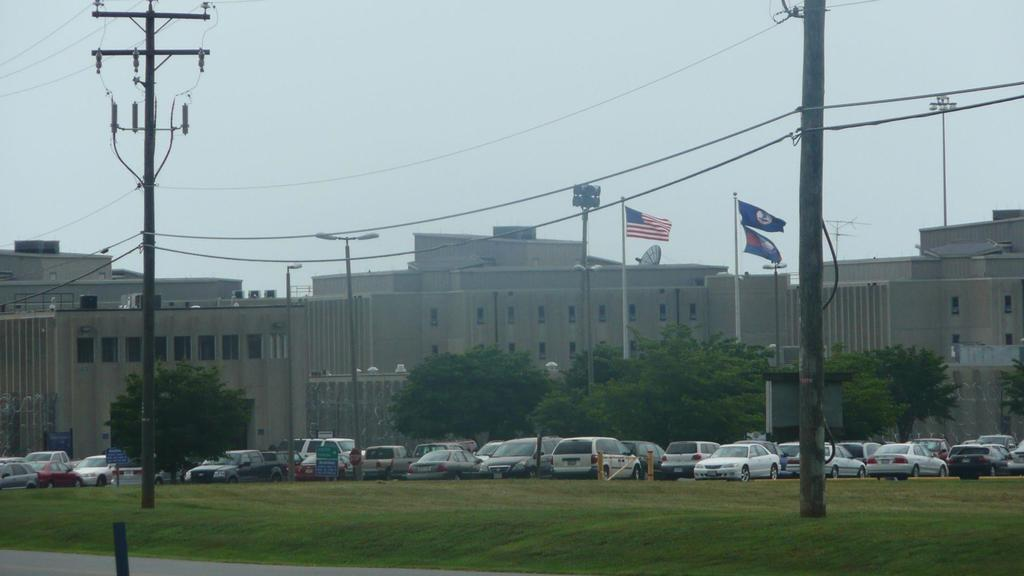 Das Buckingham Correctional Center im US-Bundesstaat Virginia