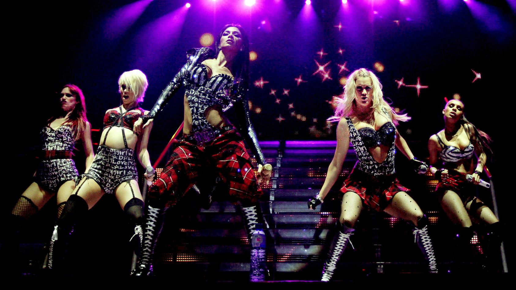 Die Pussycat Dolls 2009 in Amsterdam.