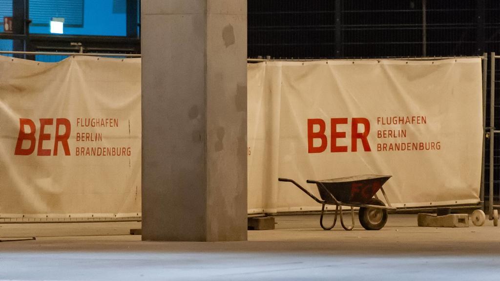 Flughafen BER immer noch eine Baustelle