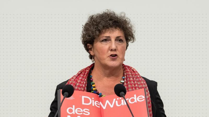 Anja Piel, Fraktionsvorsitzende von Bündnis 90/Die Grünen im niedersächsischen Landtag. Foto: Sina Schuldt/dpa