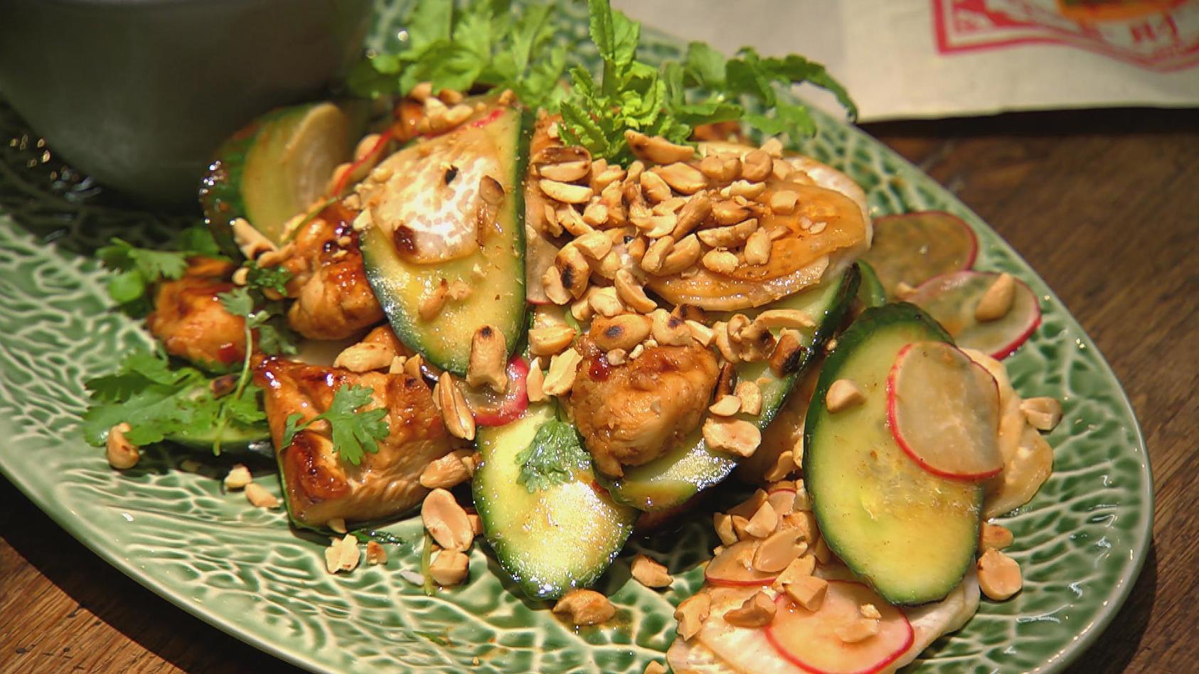 Weltreise – Zu Gast in Asien: Asia-Hähnchen mit Gemüse