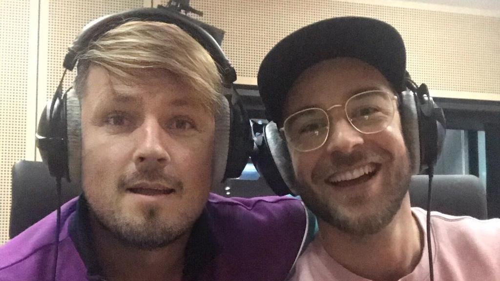 Martin Tietjen und Eric Schroth
