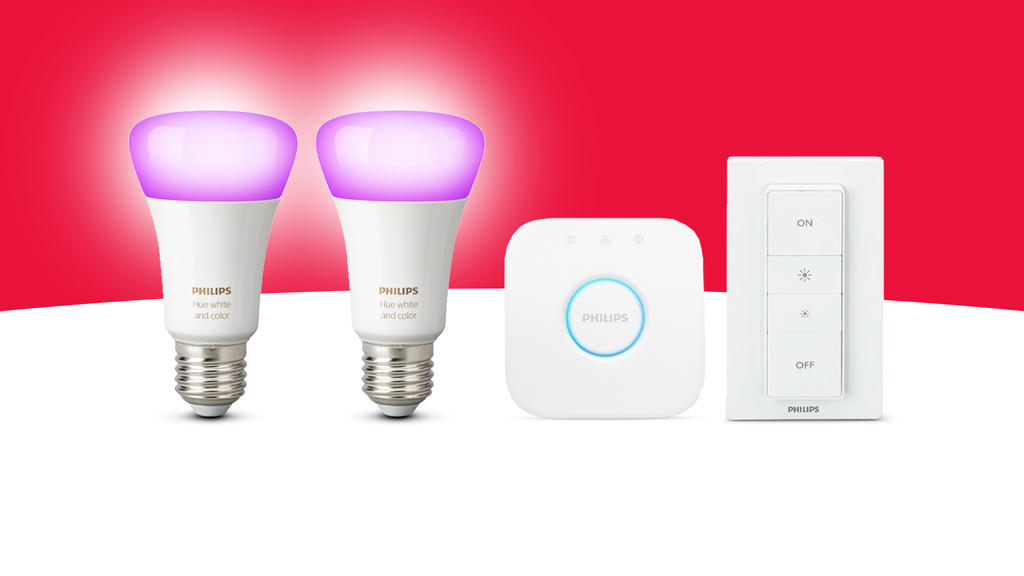 Philips Hue White Color Ambiance e27 Bluetooth Starter Kit