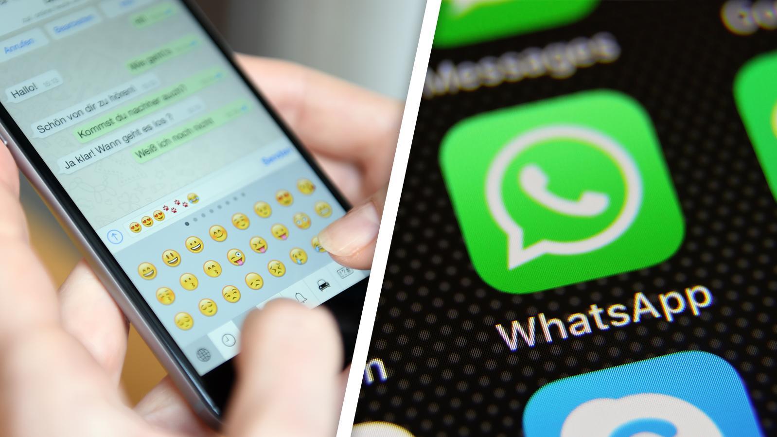 WhatsApp-Nachrichten können sich demnächst von alleine löschen.