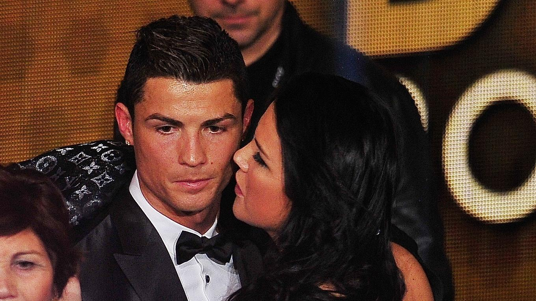 Cristiano Ronaldo mit Schwester Katia Aveiro