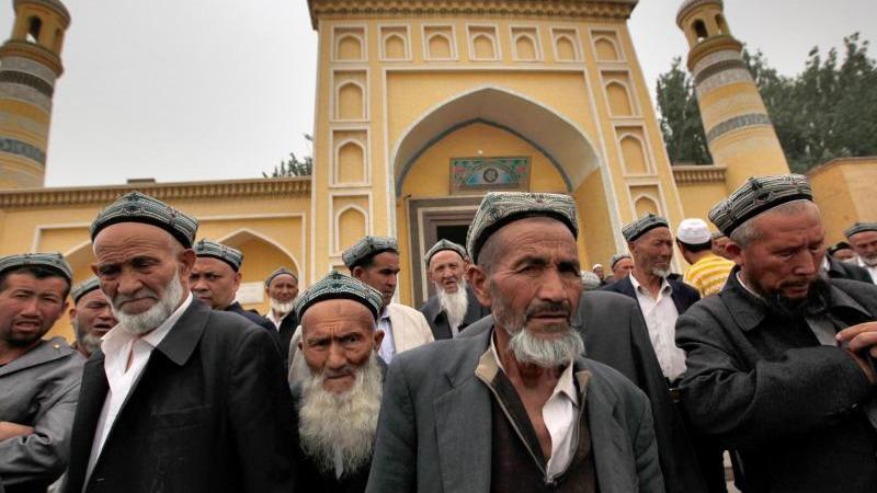 Uiguren in Kashgar im Nordwesten Chinas. Foto: How Hwee Young/EPA/dpa