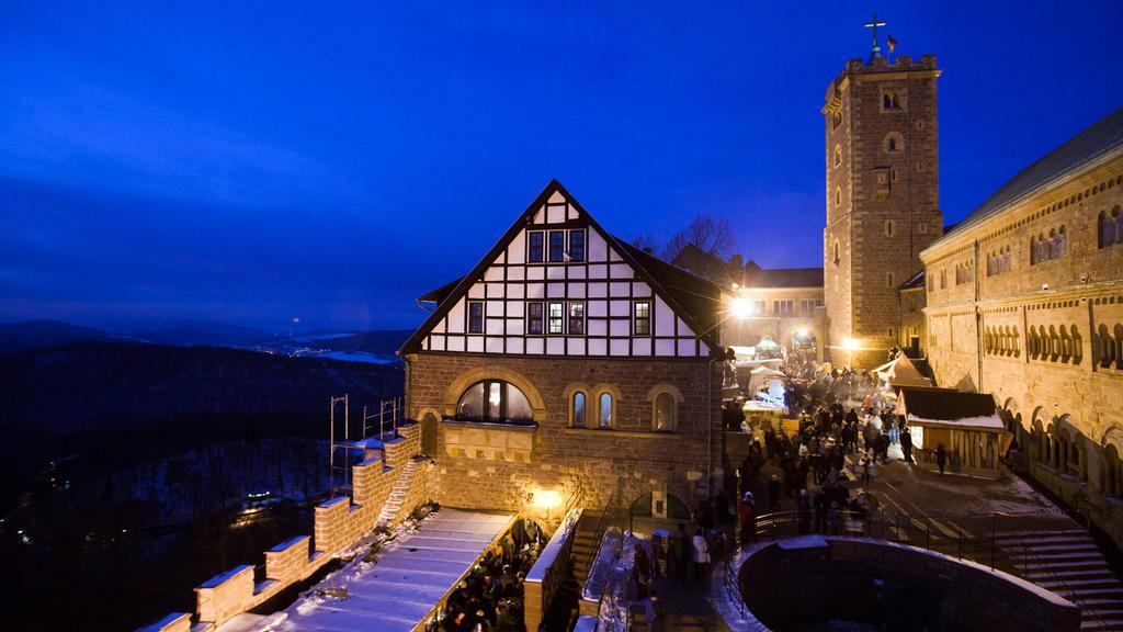 Historischer Weihnachtsmarkt auf der Wartburg