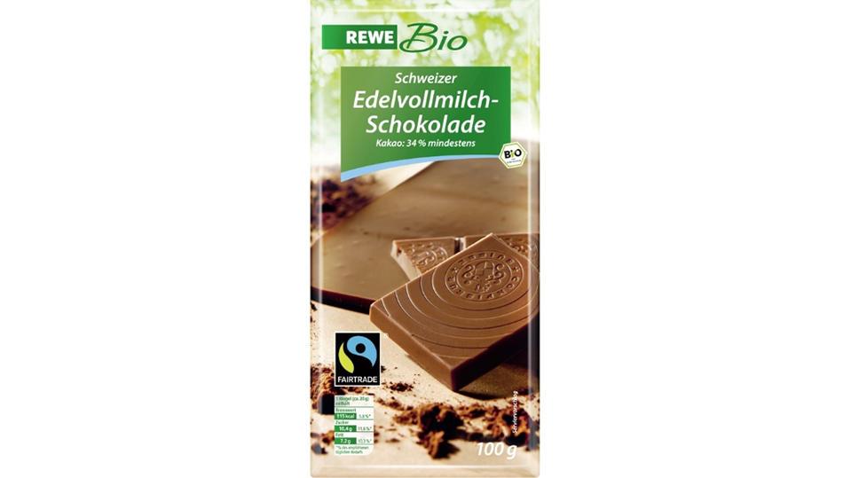 Diese Schokolade könnte fälschlicherweise Mandeln enthalten.