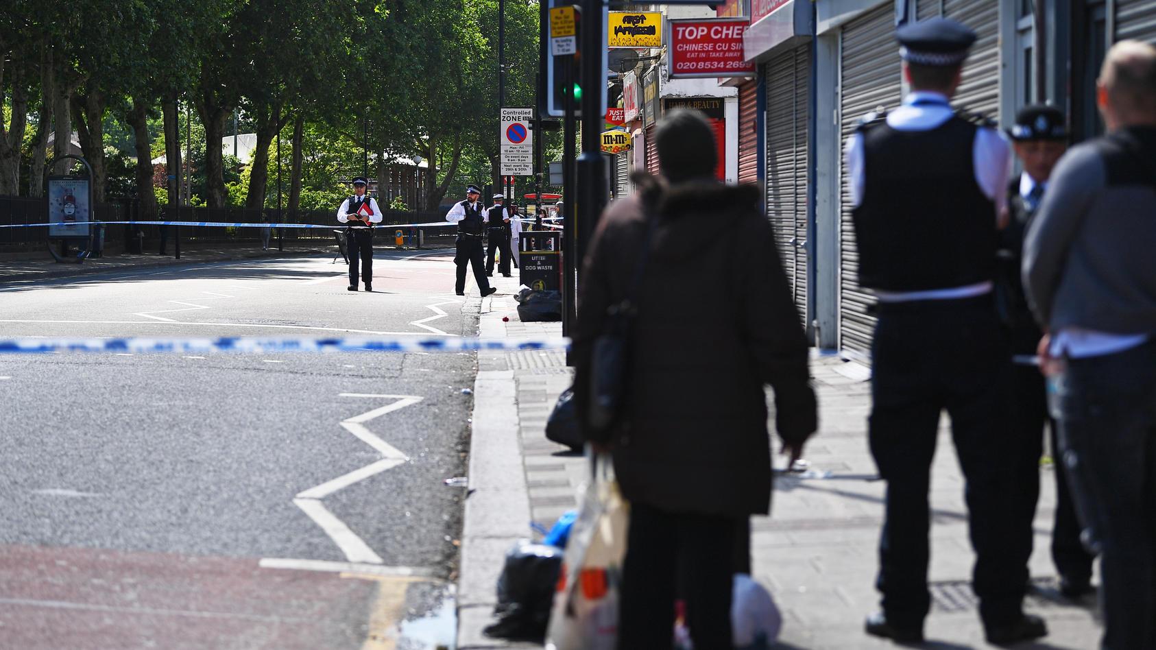 Auf dieser Straße in Dartford soll das Duell stattgefunden haben.