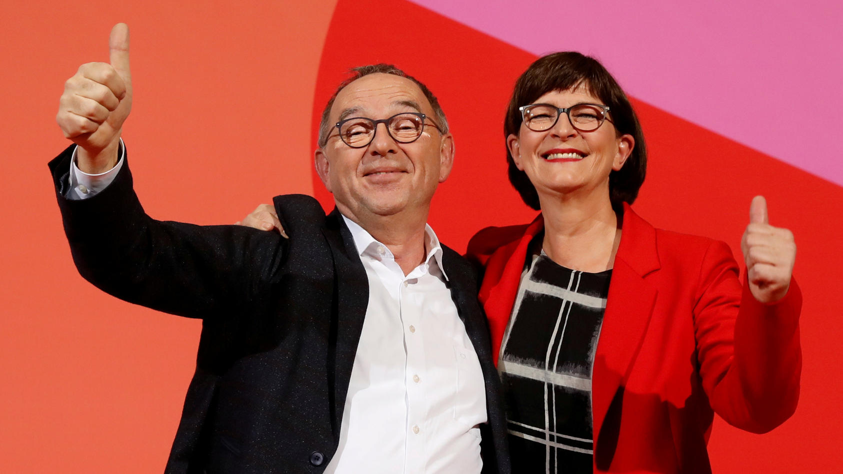 FILE PHOTO: SDP announces new leadership in Berlin