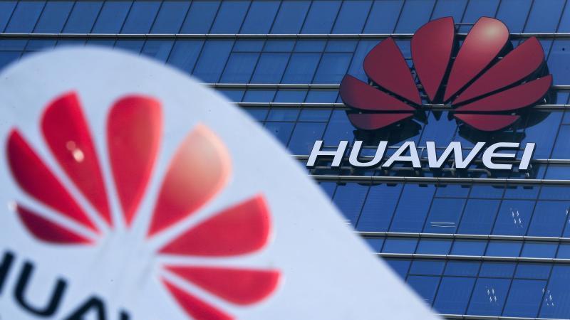 Blick auf das Huawei Forschungs- und Entwicklungszentrum im chinesischen Dongguan. Foto: Andy Wong/AP/dpa