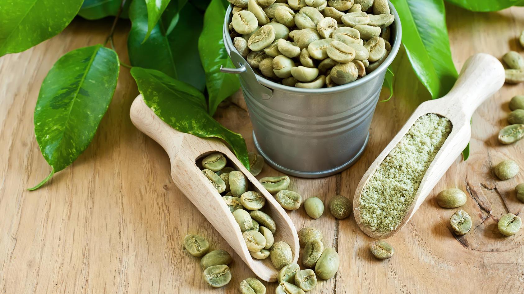 Grüner Kaffee soll beim Abnehmen helfen.