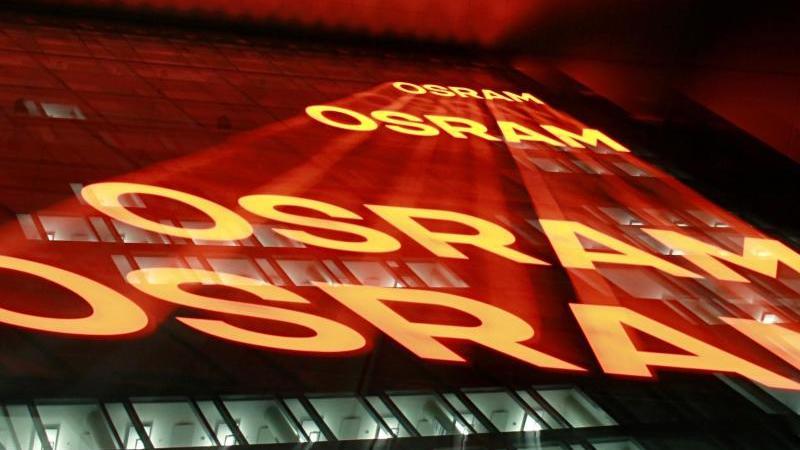 Die Zentrale der Firma Osram in München. Foto: Rene Ruprecht/dpa
