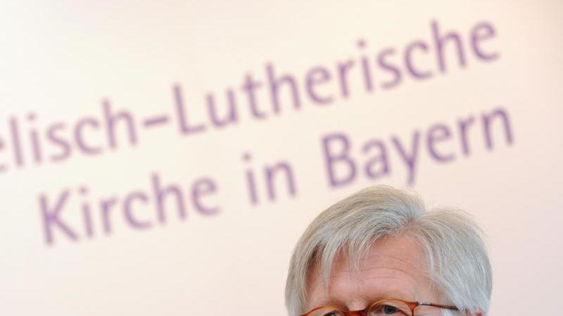 Der evangelische Landesbischof Heinrich Bedford-Strohm im Rahmen der Landessynode der ELKB. Foto: Andreas Gebert/dpa