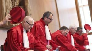 Die Karlsruher Richter haben schon häufiger über Themen der europäischen Integration entschieden