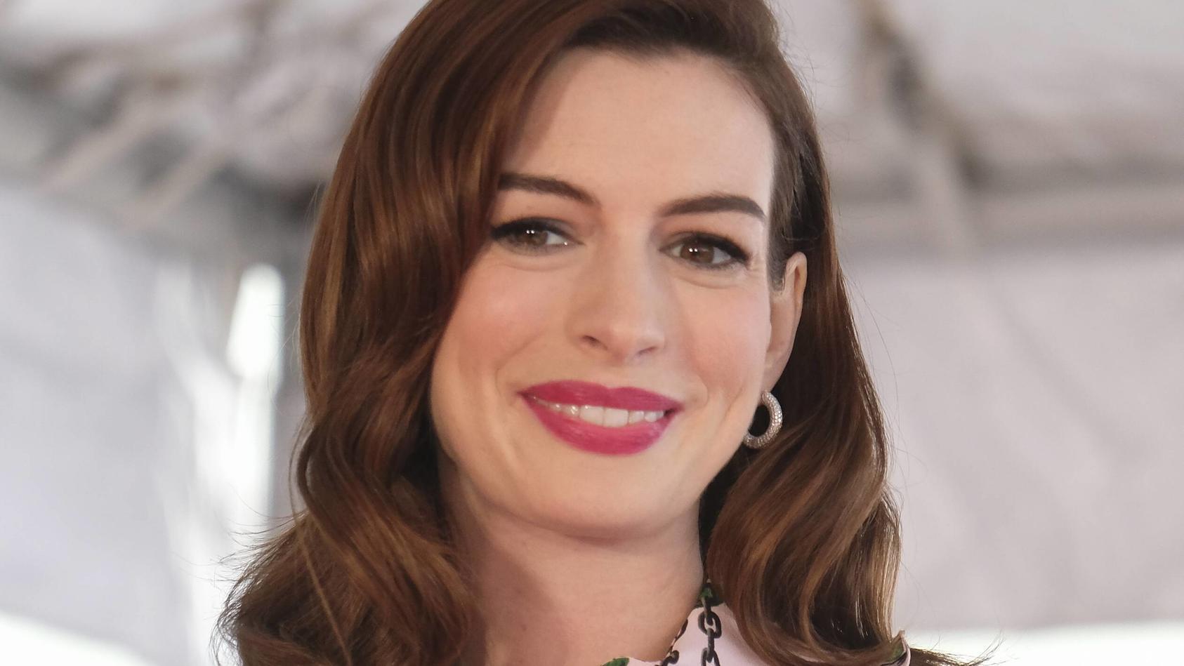 Anne Hathaway: Die Schönheit kann auch ganz anders.