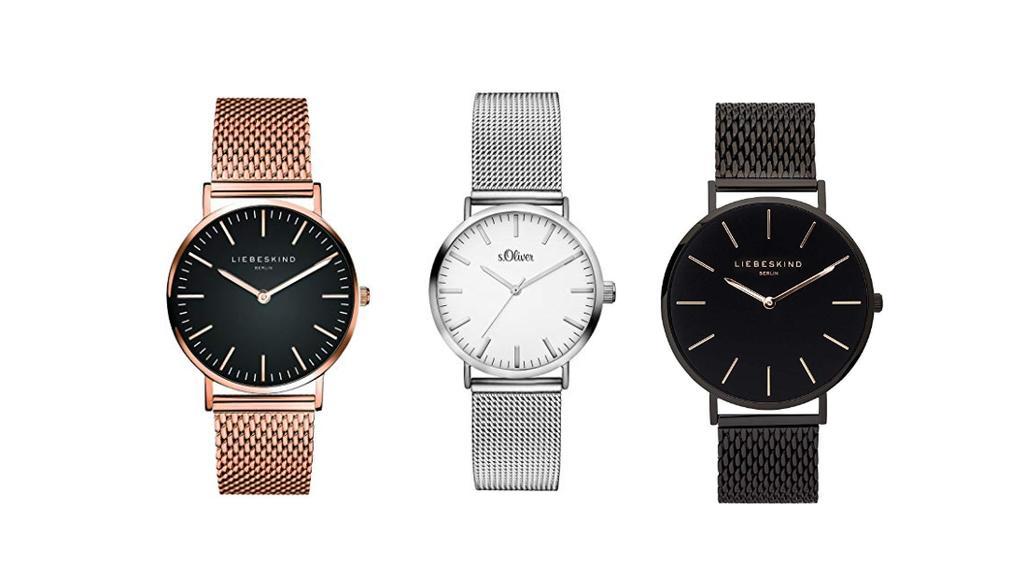 Liebeskind und s. Oliver: Uhren bei Amazon.