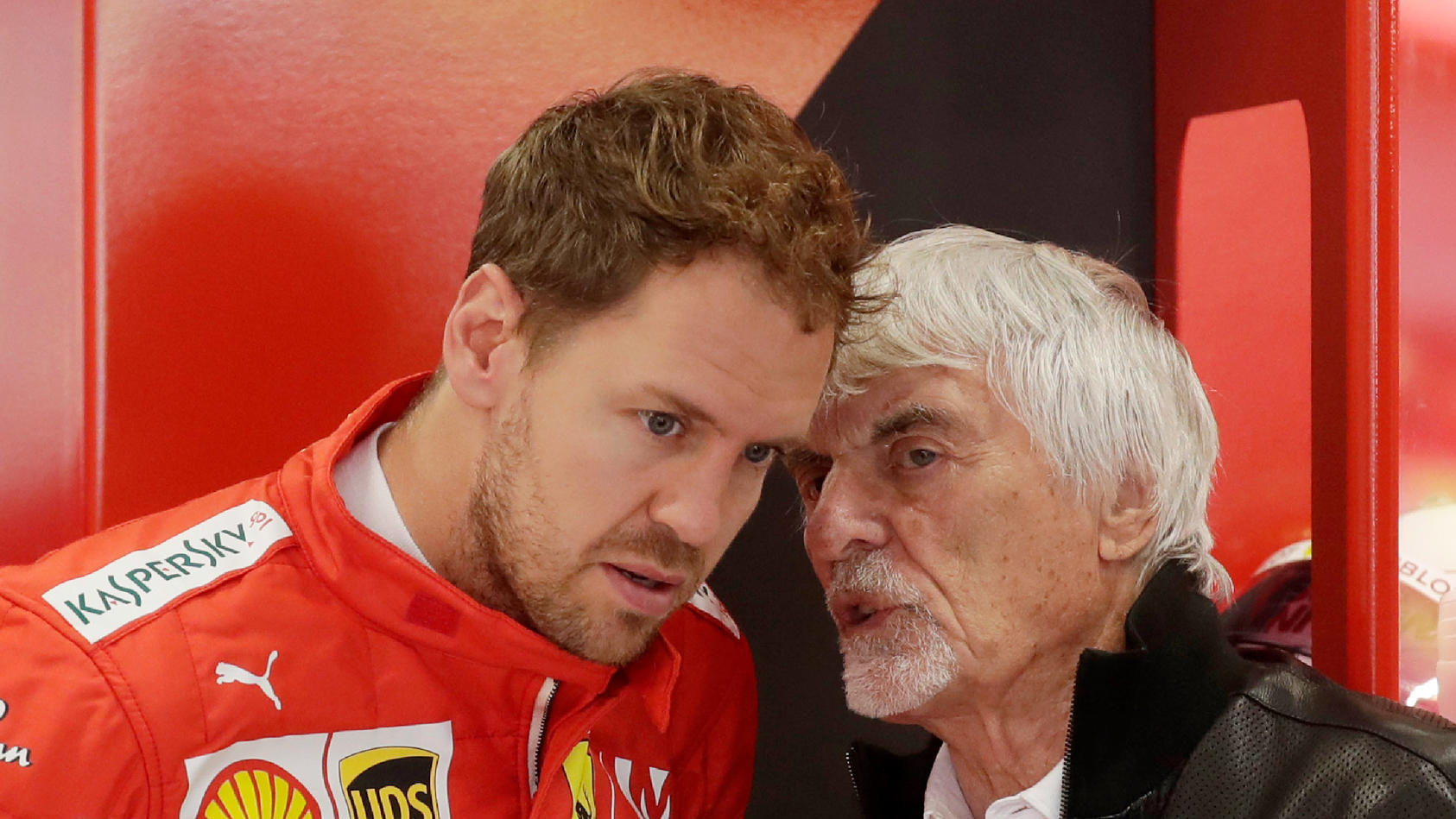 Ecclestone und Vettel