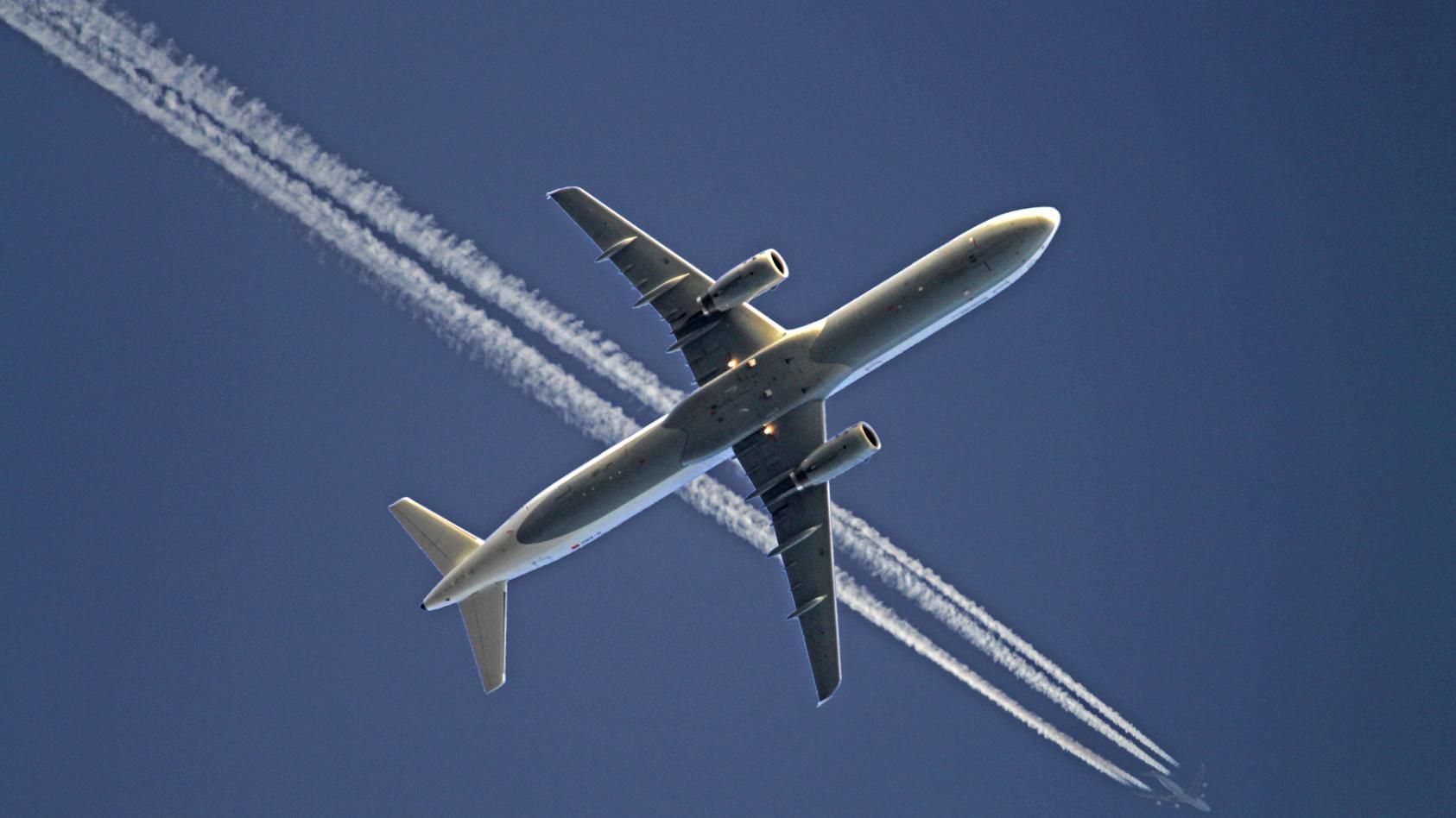 2018 waren so viele Flüge wie noch nie im deutschen Luftraum unterwegs.