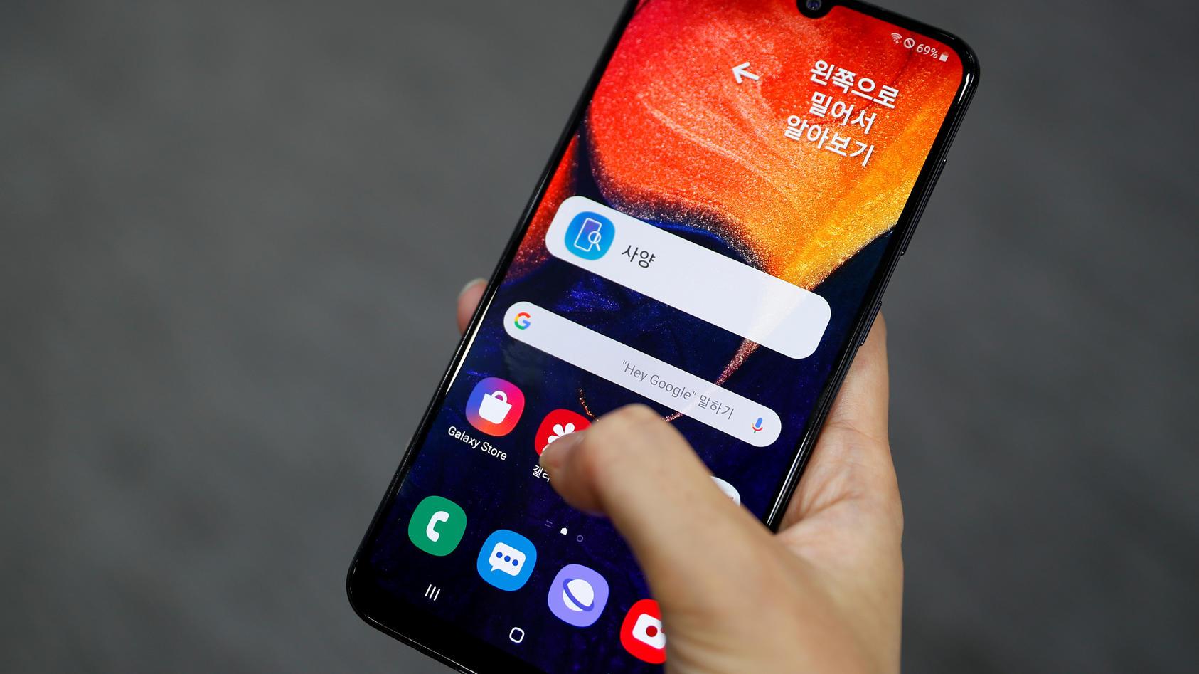 Der Preis-Leistungs-Hit Samsung Galaxy A50 ist vor Weihnachten im Angebot.