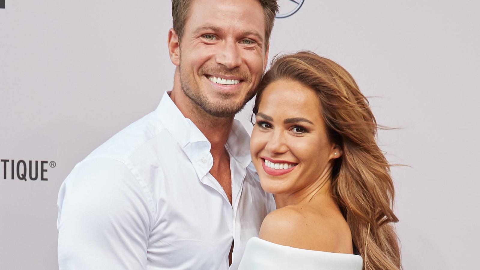 Sebastian Pannek und Angelina Heger bekommen ihr erstes Kind.