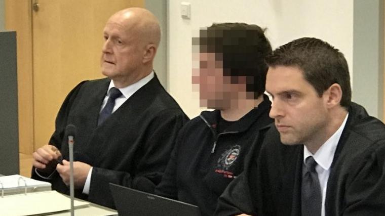Angeklagter Verlobter im Fall Maria Baumer.