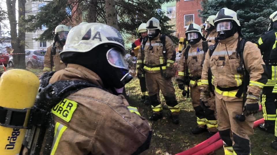 Die Freiwillige Feuerwehr hilft vor Ort
