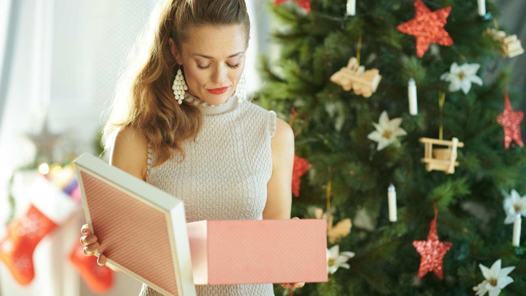 Wer mit einem Weihnachtsgeschenk unzufrieden ist, kann es wieder verkaufen.