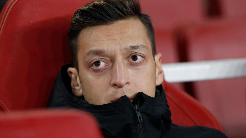 Mesut Özil hatte sich in den sozialen Netzwerken zur Unterdrückung der muslimischen Minderheit der Uiguren in China geäußert. Foto: David Klein/CSM via ZUMA Wire/dpa
