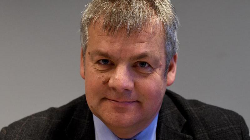 Der Ex-Leiter der Polizeiabteilung im Innenministerium, Jörg Muhlack. Foto: Carsten Rehder/Archiv