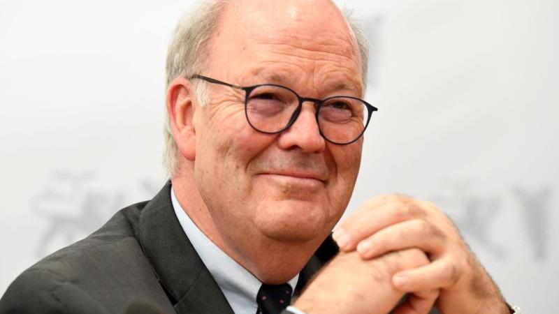 Hans-Joachim Grote (CDU), Innenminister von Schleswig-Holstein. Foto: Carsten Rehder/dpa/Archivbild