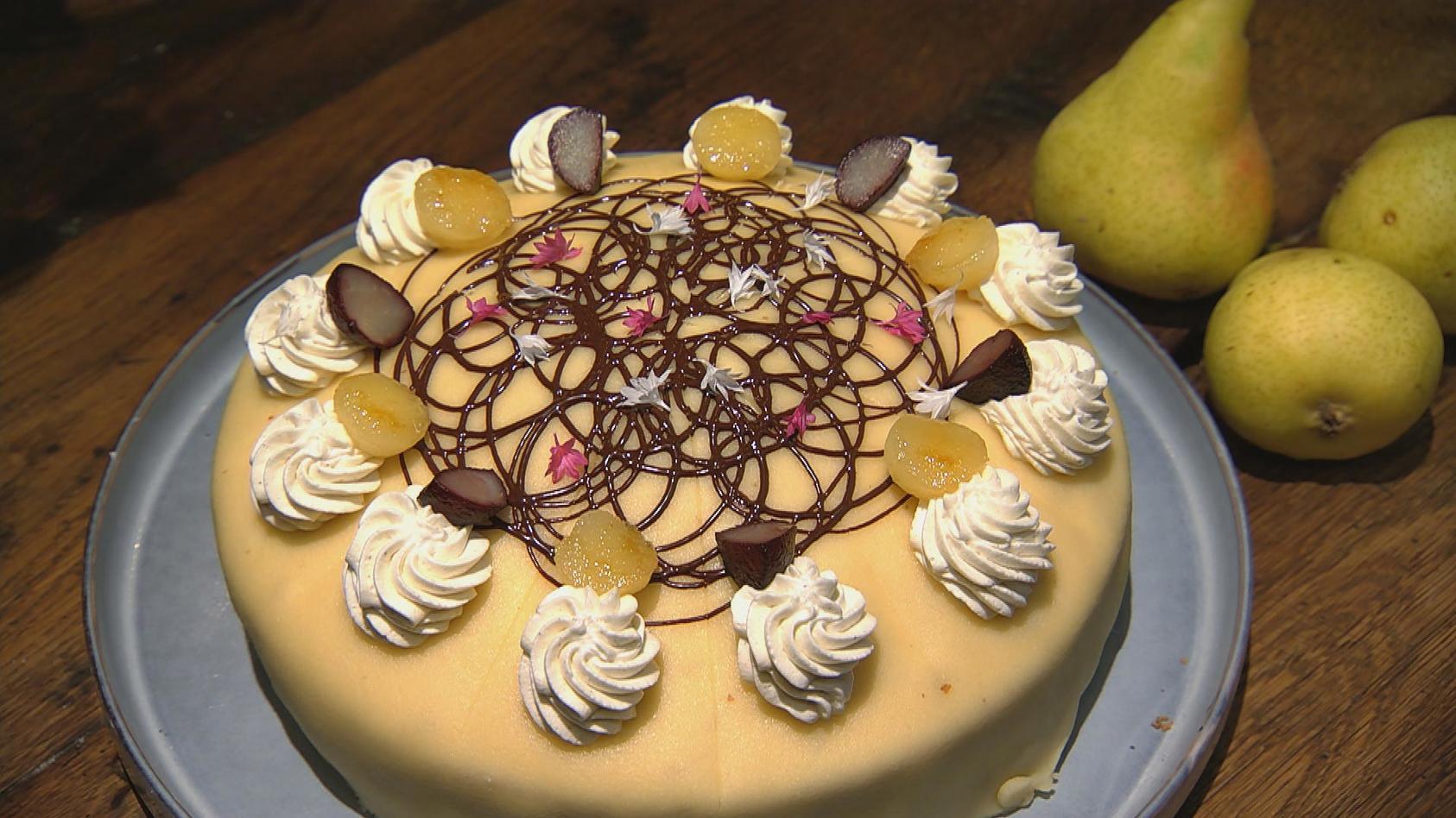 Süß und herzhaft aus dem Ofen - Das kriegt jeder gebacken: Mohn-Birnen-Torte
