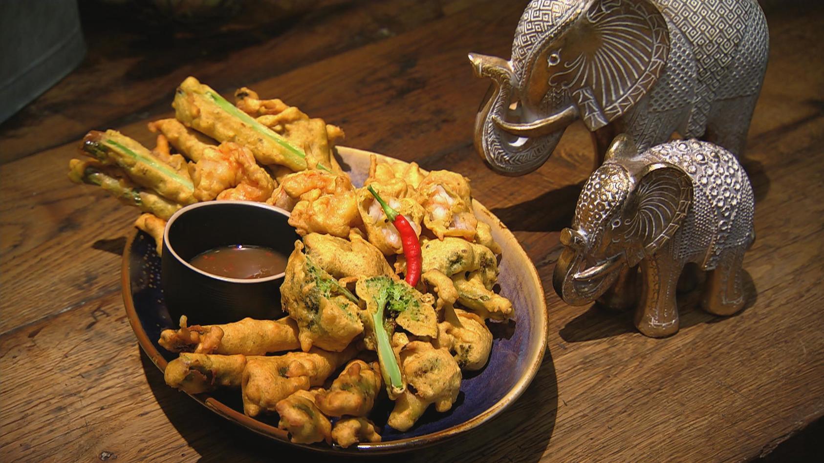Buntes Bollywood – Indische Küche für Einsteiger: Buntes Pakora-Gemüse