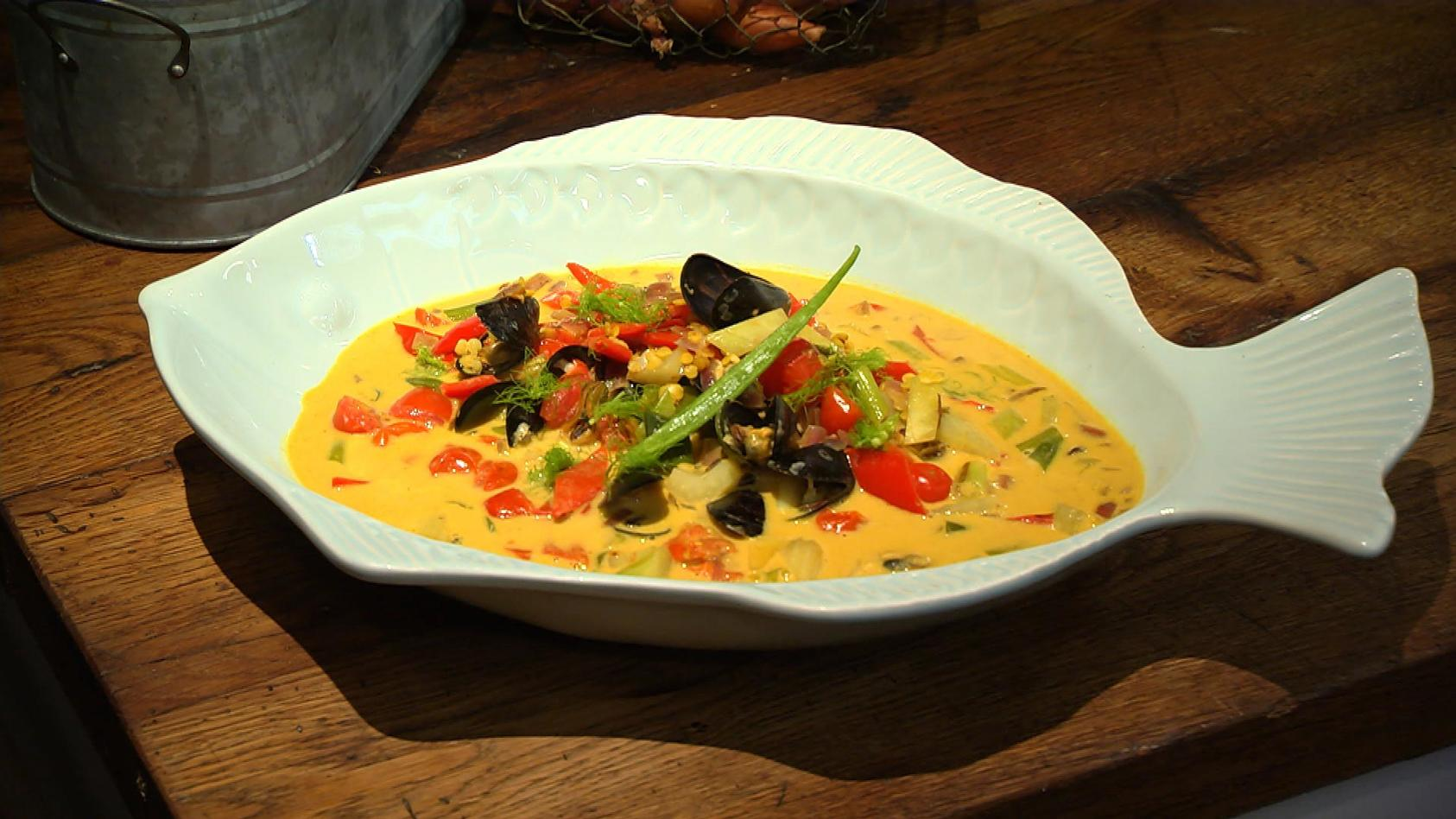 Spitzenküche so simpel, so lecker: Linsen-Muschel-Curry