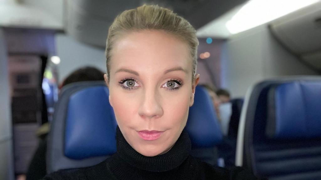 RTL-Reporterin Janina Beck
