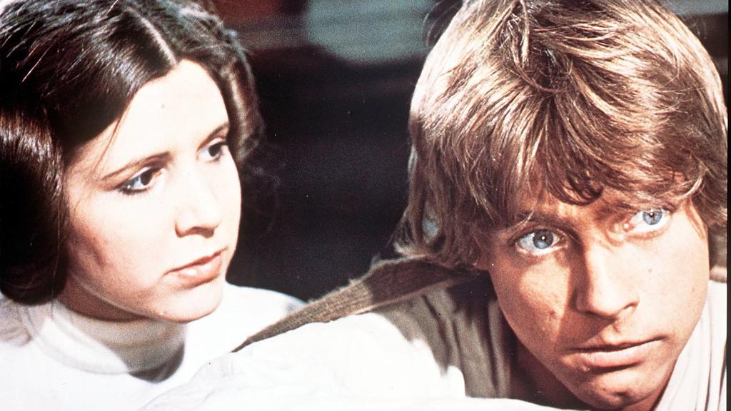 """Leia und Luke in der ersten Trilogie der """"Star Wars""""-Saga"""