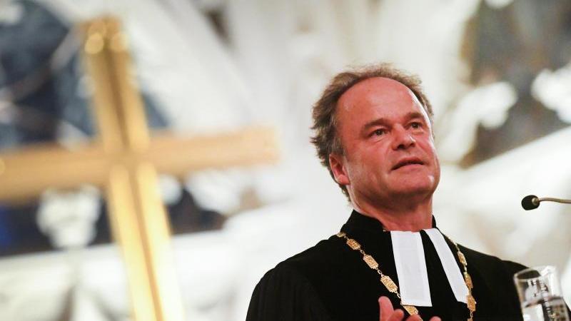 Tilman Jeremias, neuer Bischof im Sprengel Mecklenburg und Pommern der evangelischen Nordkirche. Foto: Stefan Sauer/zb/dpa/Archivbild
