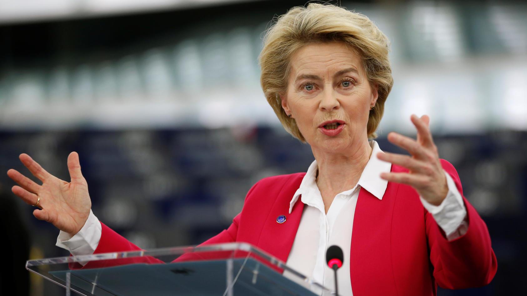Ursula von der Leyen ist EU-Kommissionspräsidentin.