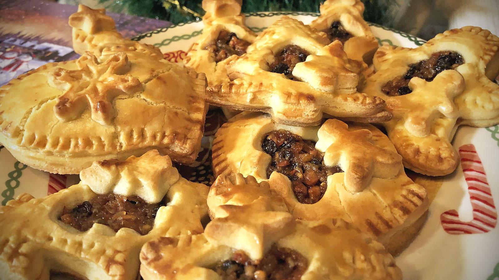 Weihnachtsplätzchen in Pie-Form - sooo lecker!