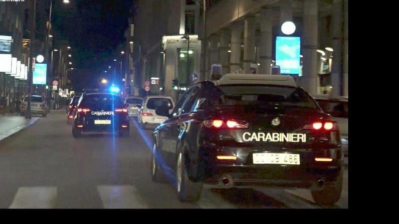 Operation der Polizei gegen die Mafia in Italien. Foto: -/Ufficio Stampa Comando Generale Carabinieri/dpa