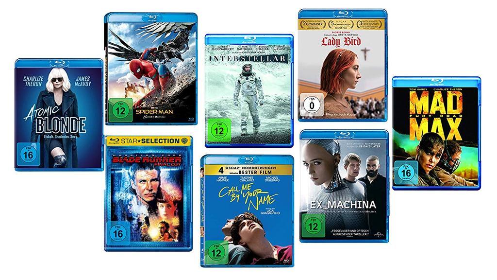 5 Filme für 30 Euro.
