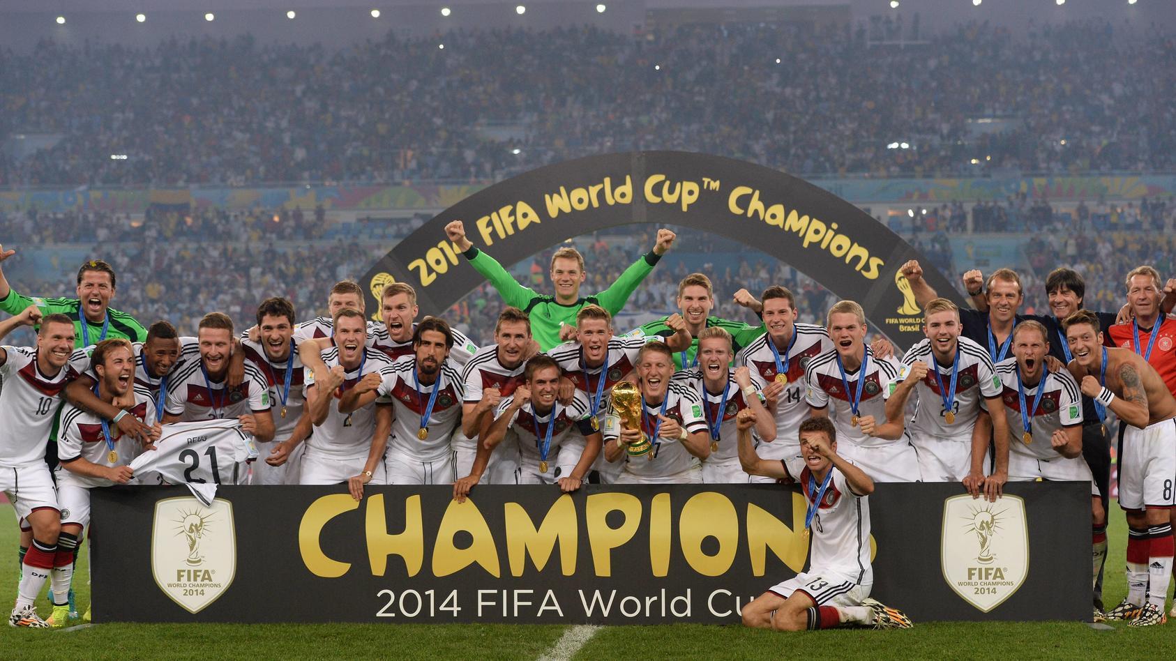 Unvergessen: der WM-Sieg 2014