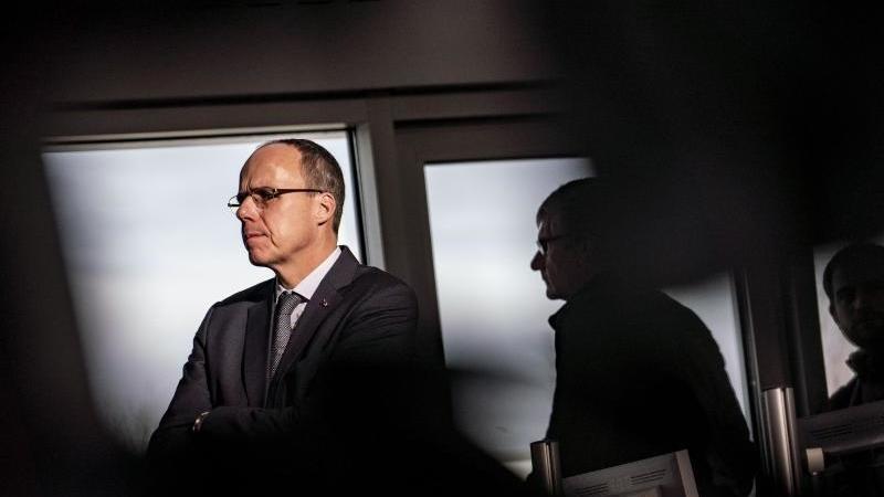 Peter Beuth (CDU). Foto: Frank Rumpenhorst/Archivbild