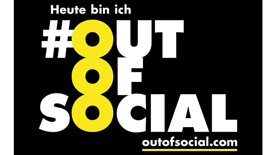 Das Projekt #outofsocial findet am 25. Dezember statt.