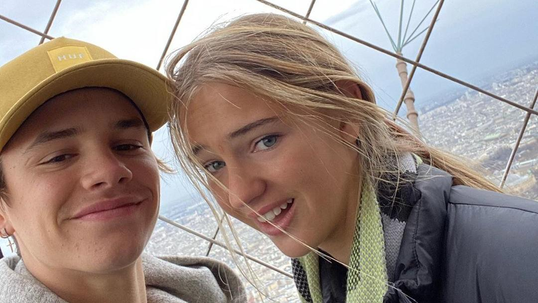 Romeo Beckham Freundin