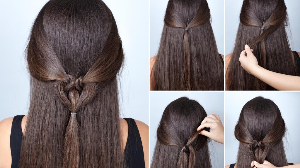 Süßer Hairstyle mit Herz