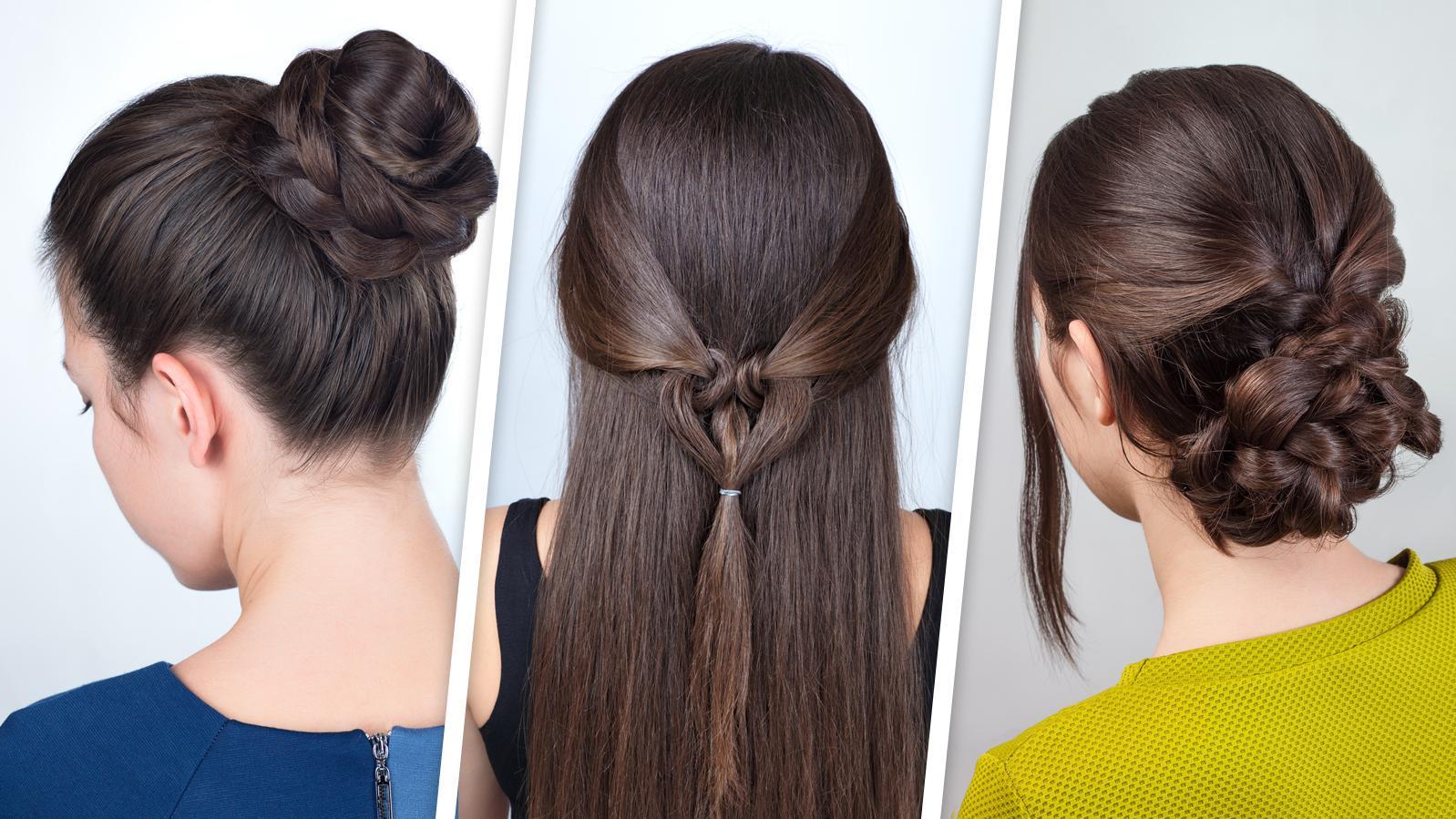 Diese Frisuren können Sie ganz einfach nachmachen!