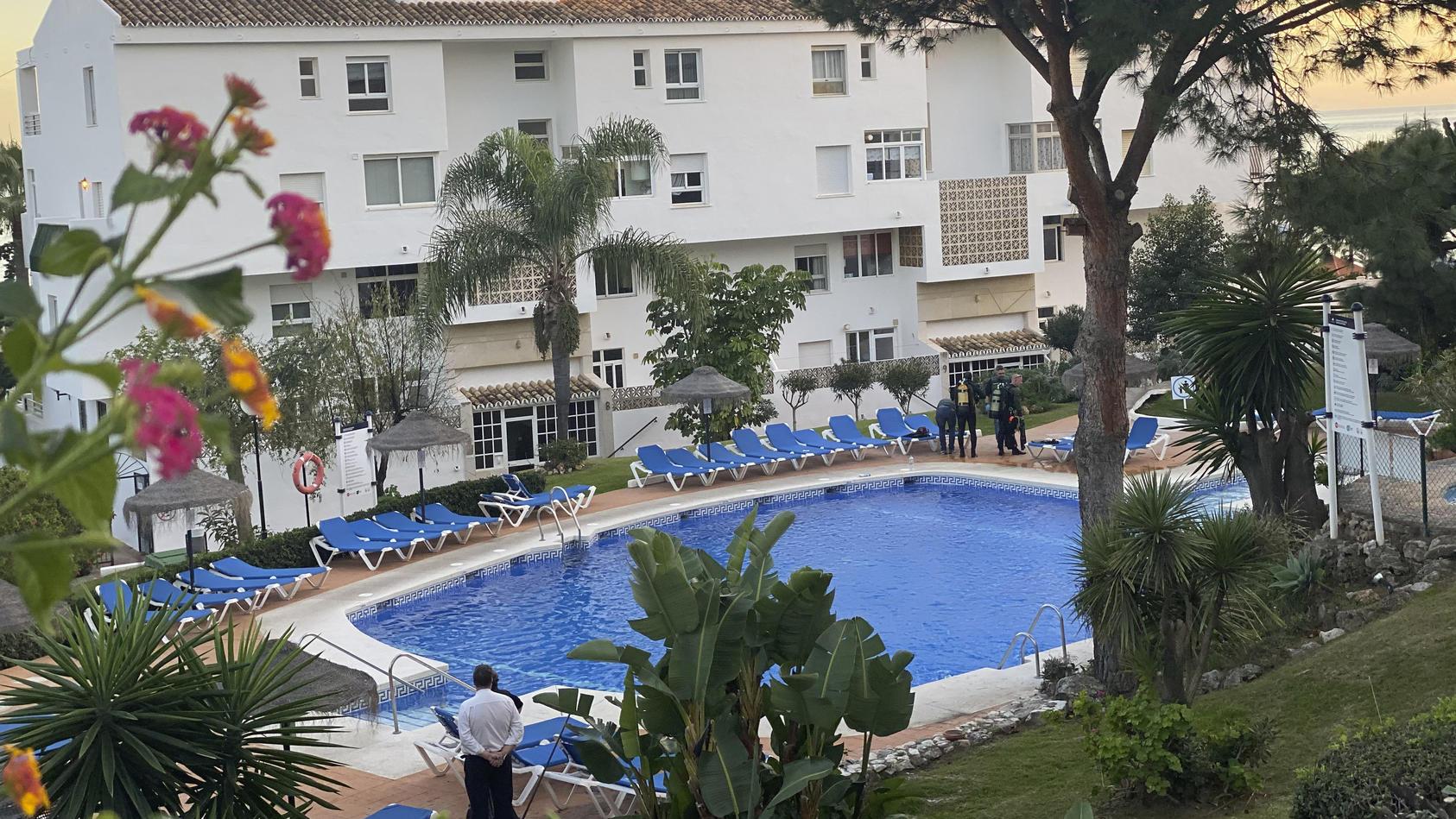 Hotelpool-Unglück an Weihnachten